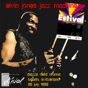 elvin jones jazz machine - lugano 99 f