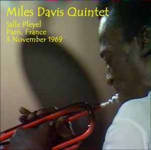 Miles Davis Quintet - Salle Pleyel 3-Nov-1969 - CD Front Insert