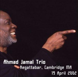 Ahmad Jamal 2002-04-19 CD Front Insert