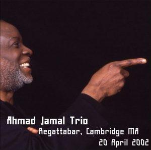 Ahmad Jamal 2002-04-20 CD Front Insert