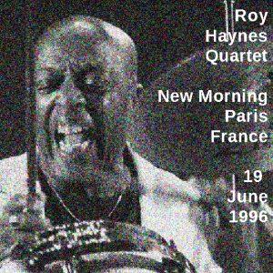 Roy Haynes Quartet 1996-06-18 frontcover