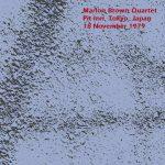 marion brown - tokyo, 18 nov 1979 & new york, 7 sept 1985